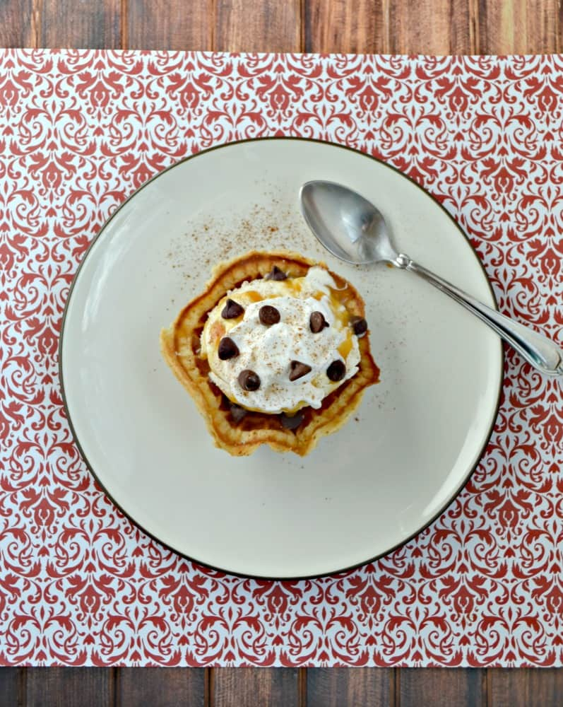 Grab a spoon and dig into these Pizzelle Sundae Bowls!