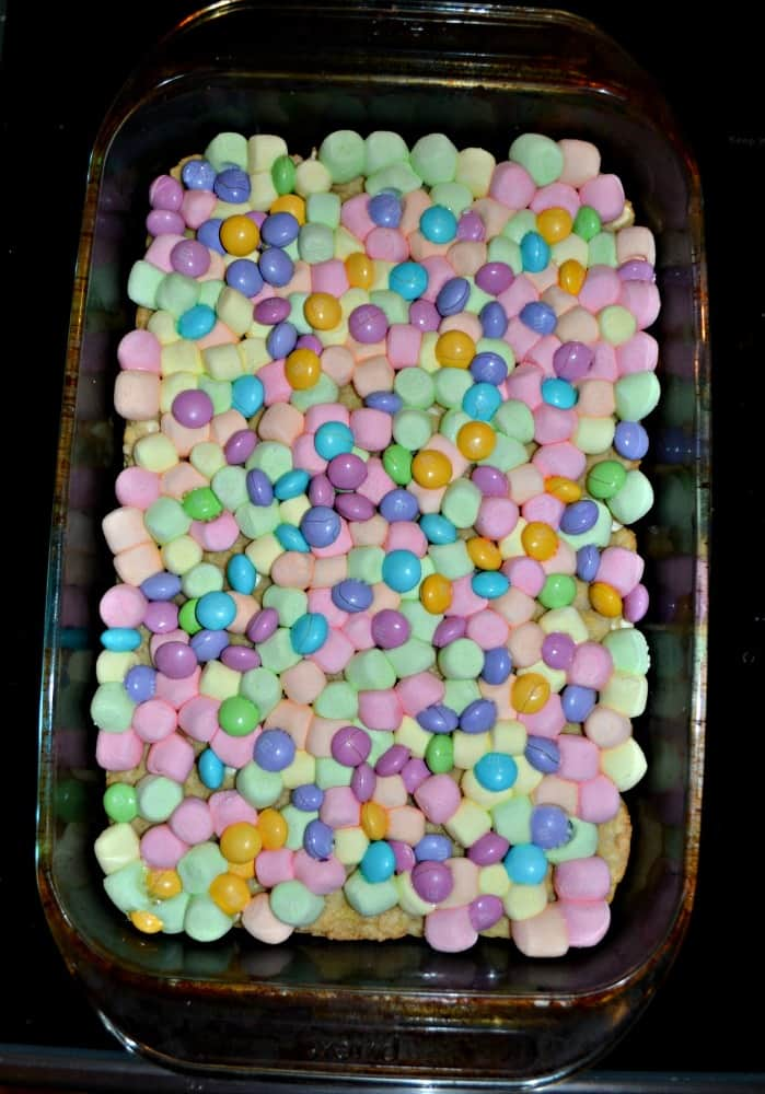 Love the colors in these delicious Spring Confetti Cookie Bars