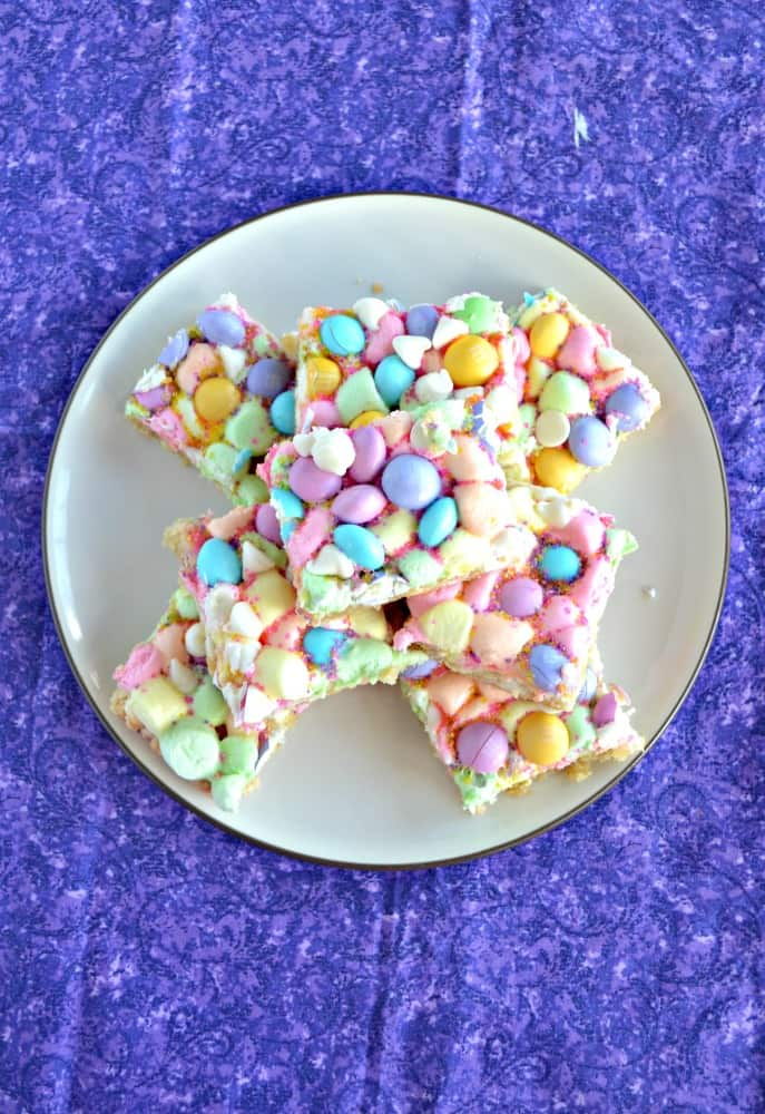 Looking for a fun and colorful Easter dessert? Try these awesome Spring Confetti Cookie Bars!