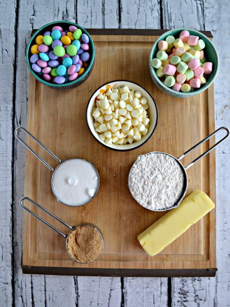 Everything you need to make delicious Spring Confetti Cookie Bars