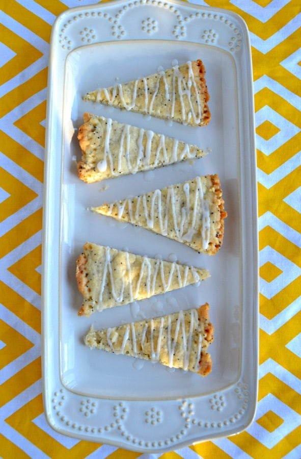Love the bright flavor and buttery texture of these Lemon Poppyseed Shortbread Cookies