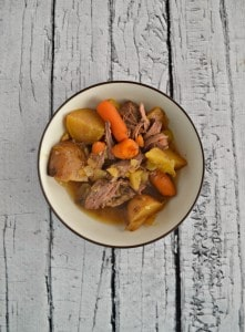 The whole family will enjoy this tasty Slow Cooker Pot Roast with Carrots and Potatoes.