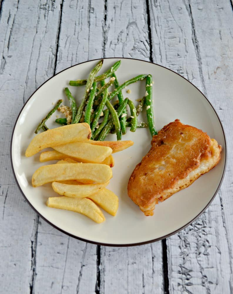 I've had so much trouble getting a delicious and crispy fried fish but I don't have to worry with this No Fail Beer Battered Fish Recipe!