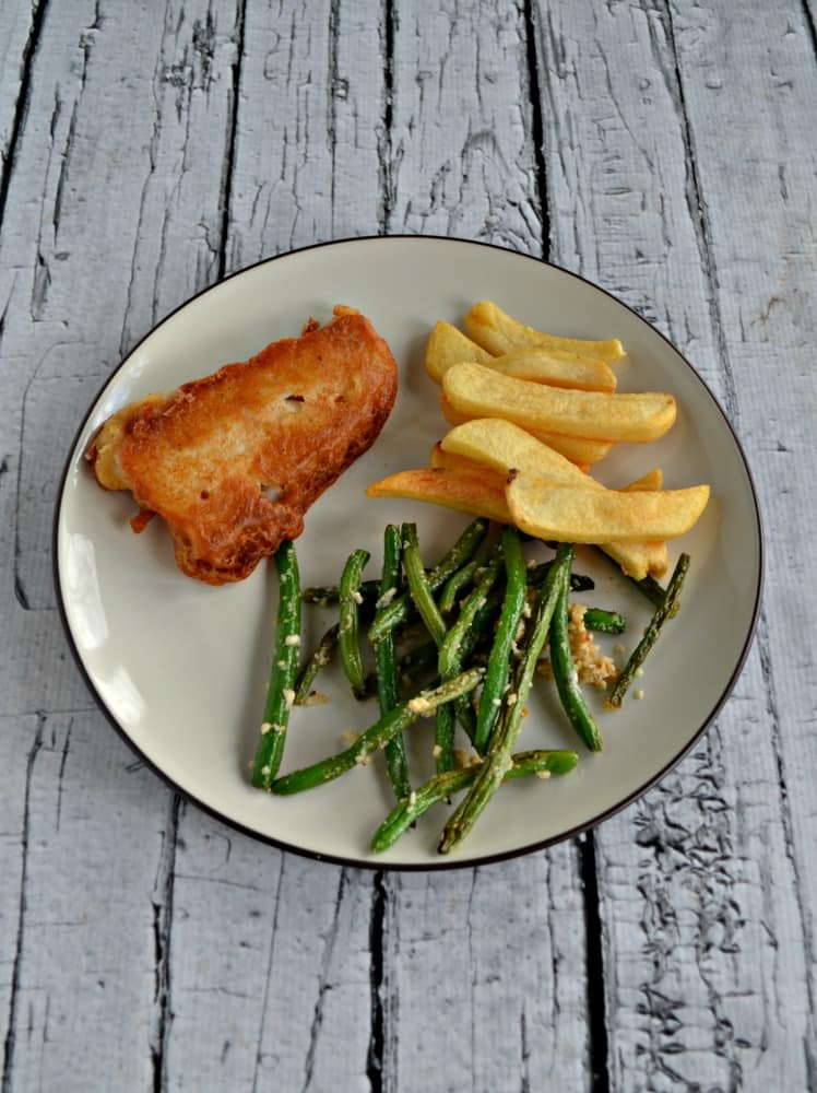 Love the crispy batter on this No Fail Beer Battered Fish recipe!