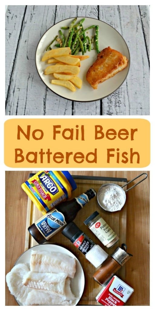 Everything you need to make a delicious and crisp Beer Battered Fish!