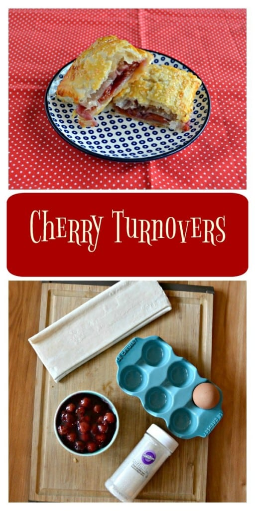 Everything you need to make these Easy Cherry Pie Turnovers