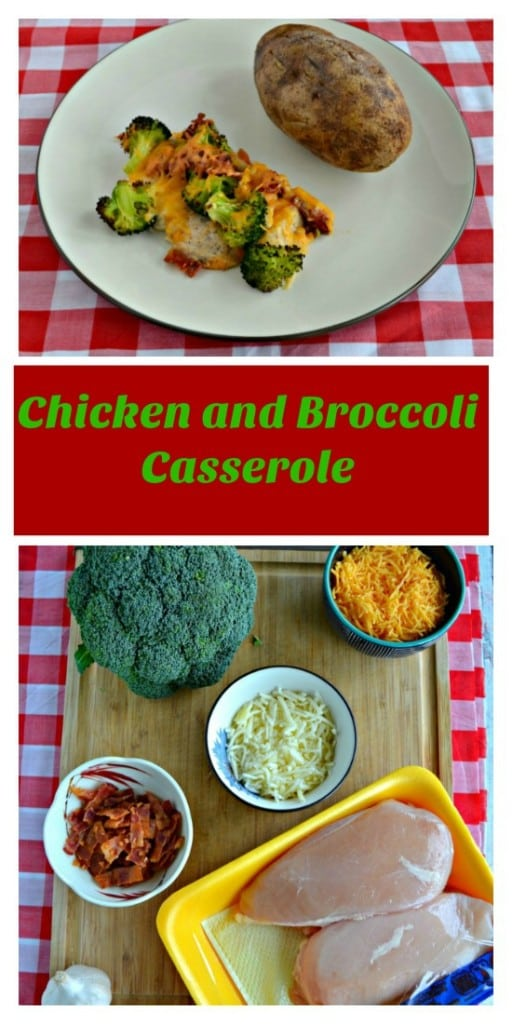 Love this easy one pan Broccoli Bacon Cheddar Chicken Bake!
