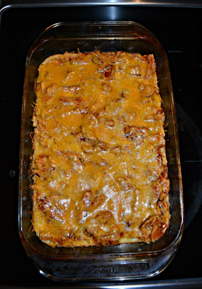 Who wouldn't love a delicious and cheesy Chicken Tamale Casserole?