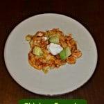 Chicken Tamale Casserole #MexicanRecipes
