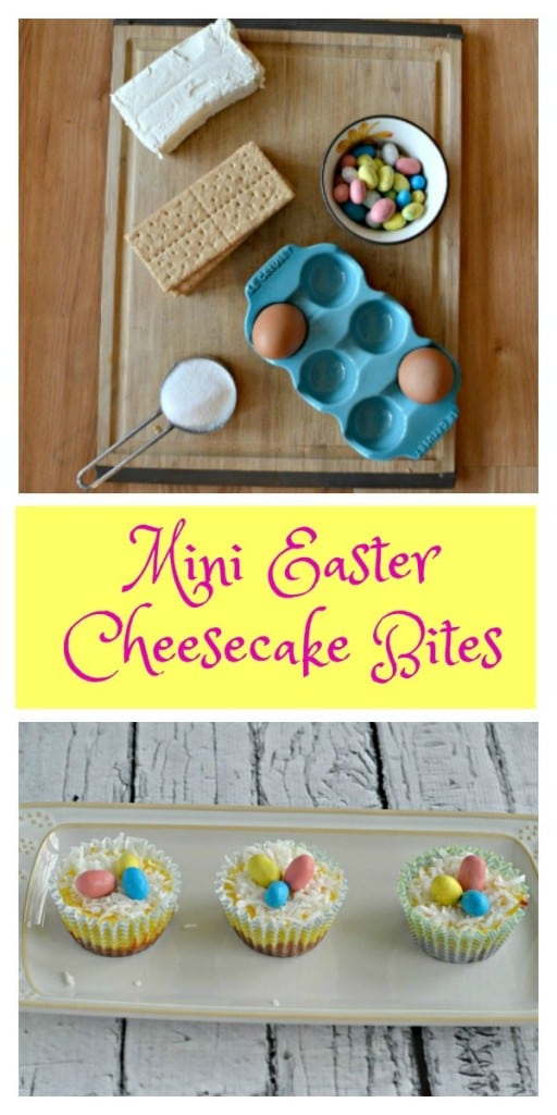 The whole family will enjoy these Mini Easter Cheesecake Bites