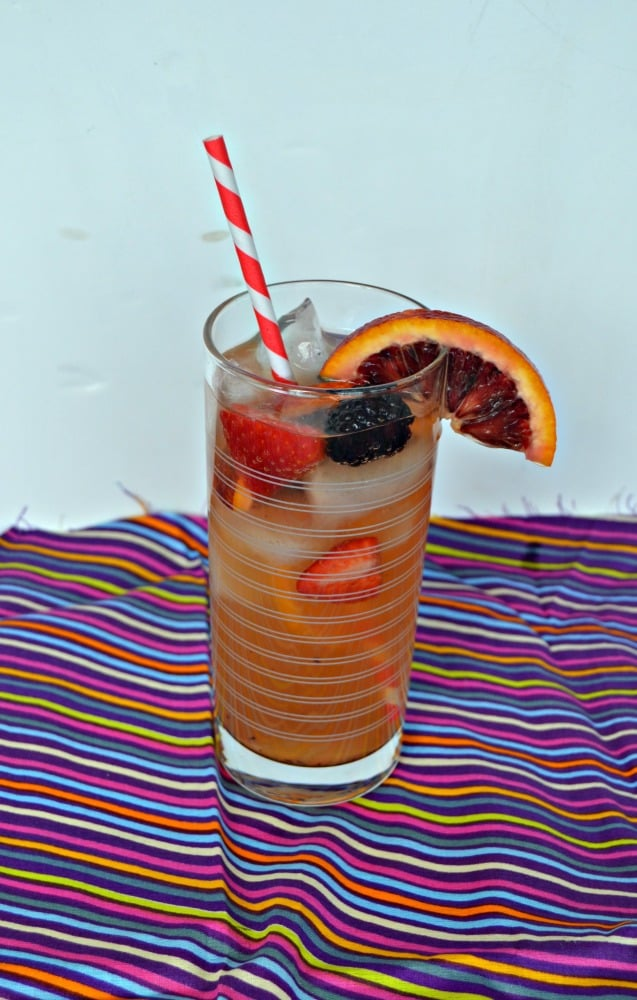 Cool off with a refreshing glass of Iced Tea Sangria!