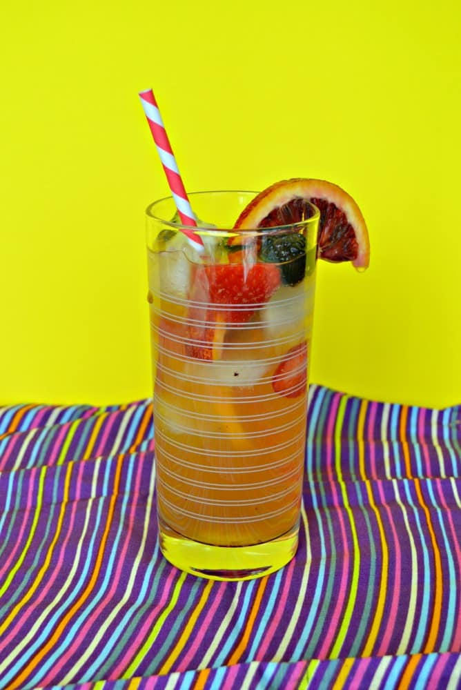 Want the delicious fruity flavor of sangria without the alcohol? Check out my flavorful and refreshing Iced Tea Sangria!