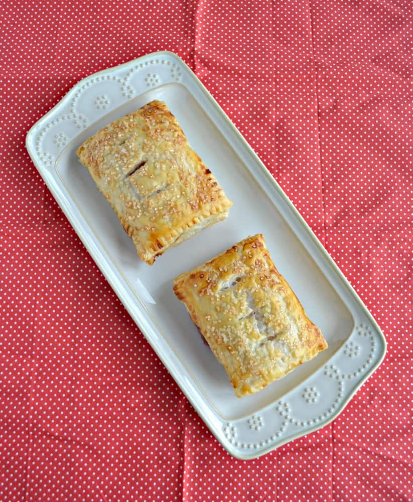 Bite into one of these tasty Cherry Pie Turnovers!
