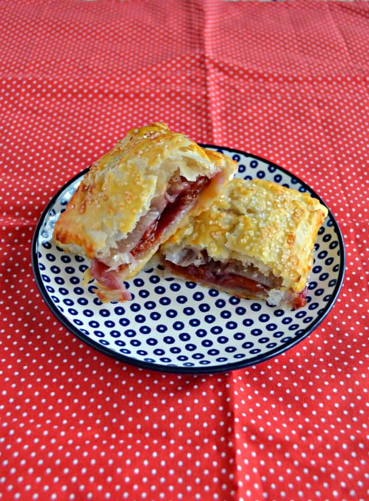 I love making and serving these easy Cherry Pie Turnovers for brunch!