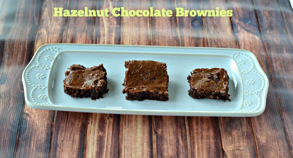 Gluten Free Hazelnut Chocolate Brownies