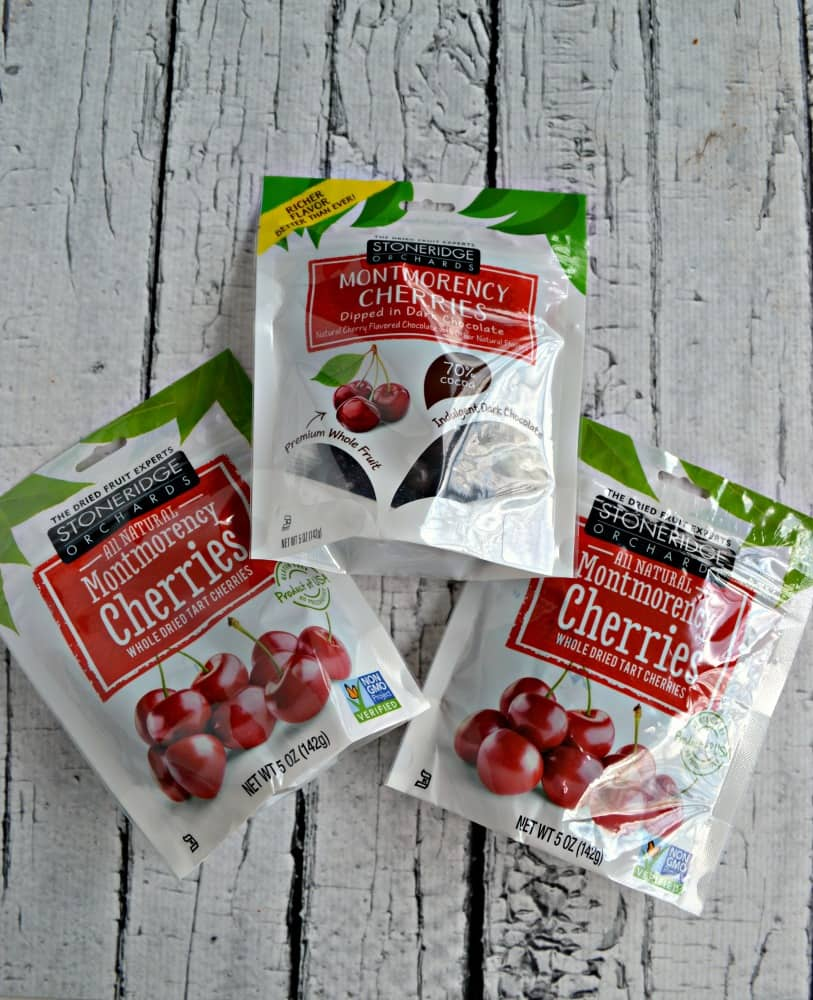 Enter now to win a bag of Stoneridge Orchards dried cherries!