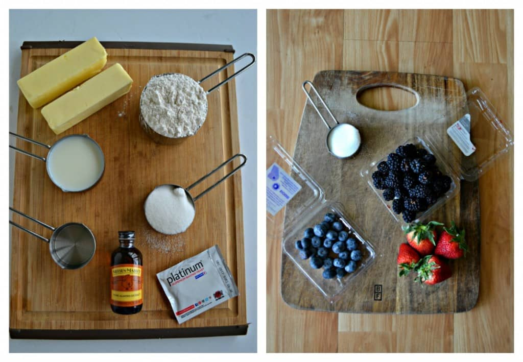 Everything you need to make a delicious Berry Breakfast Braid