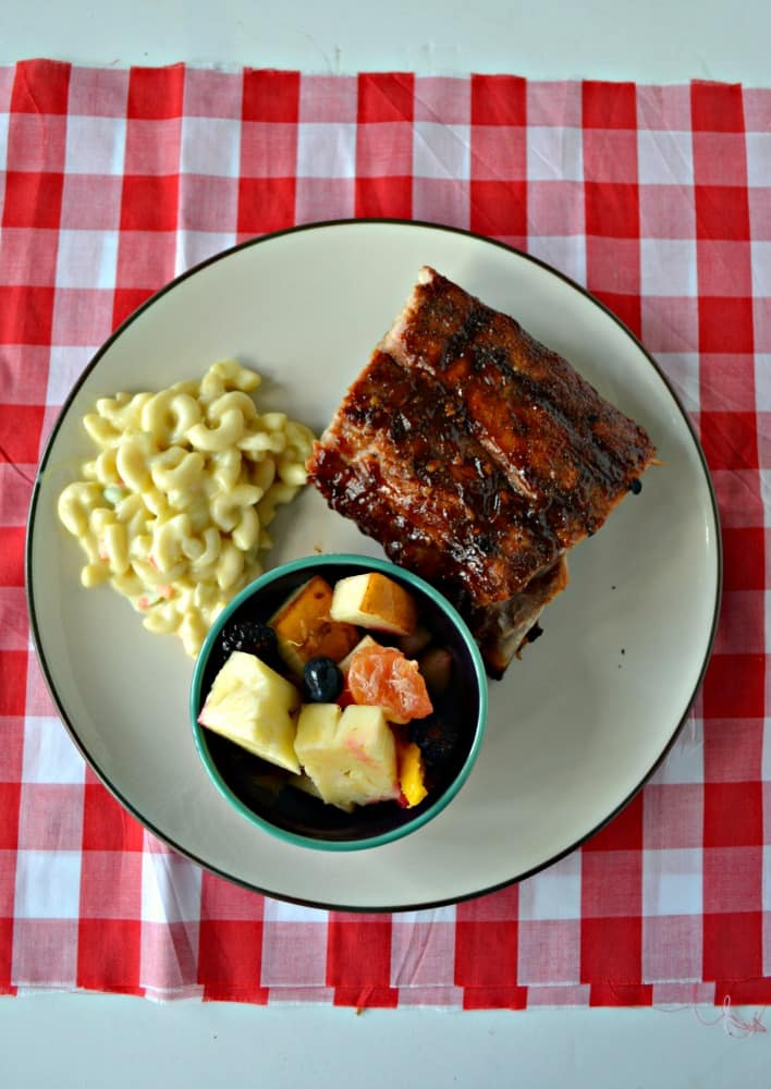 Looking for a great cook out recipe? Try my Bourbon BBQ Ribs!
