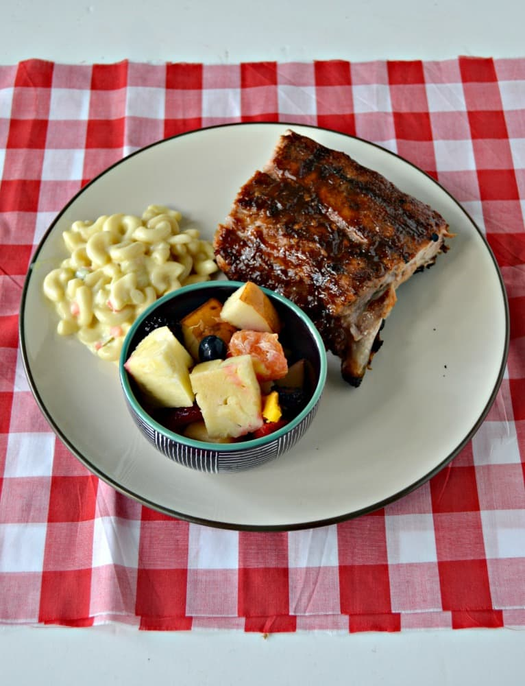 Love these finger licking Bourbon BBQ Ribs in the summer!