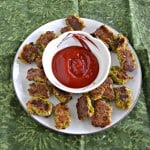 Try these fun Broccoli Tots to get the kids to eat their vegetables.