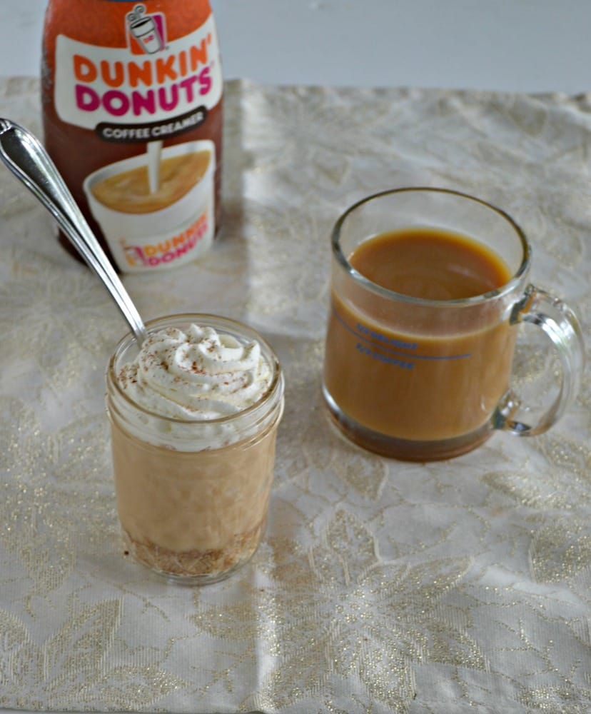 Looking for the perfect dessert to go with your cup of coffee? Try this flavorful Caramel Pudding Parfait!