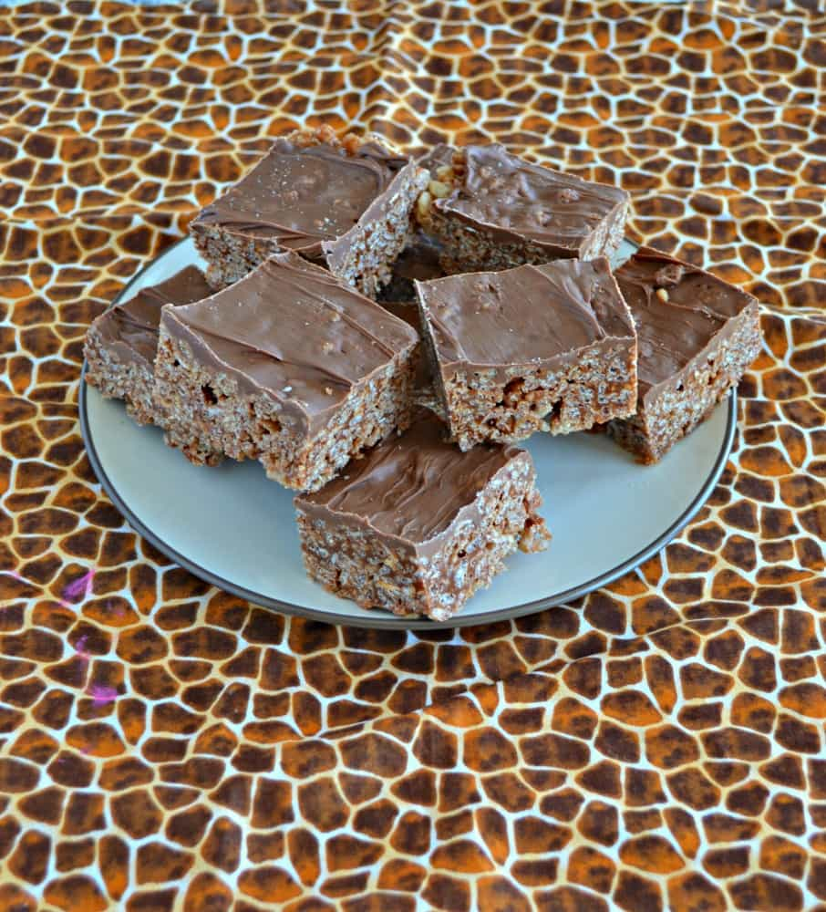 Too hot in the kitchen to bake? Make a batch of these awesome Nutella Scotcheroos instead!
