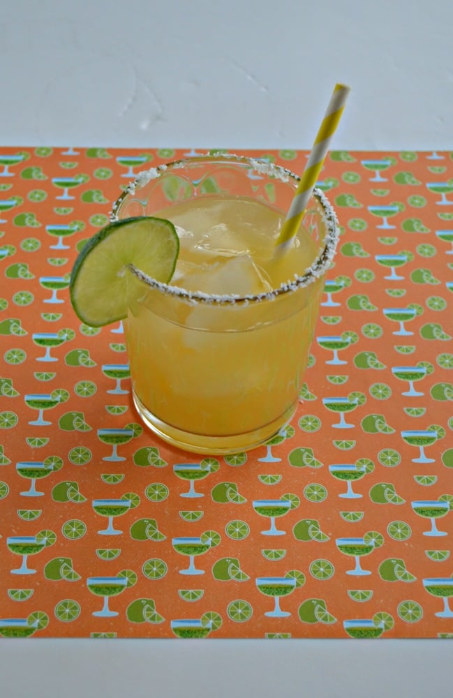 Sip on this tasty and delicious Pineapple Margarita!