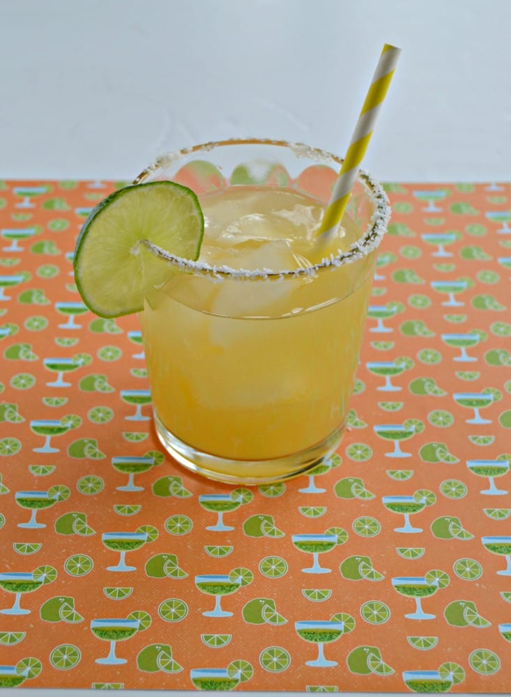 I love the sweet and tart flavor of this Pineapple Margarita!