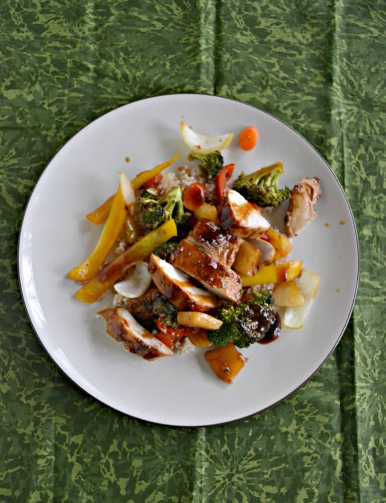 Need an easy weeknight meal? We love this tasty Sheet pan Chicken Teriyaki and Vegetables meal!