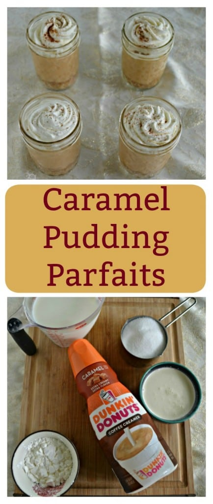 Looking for a delicious dessert to go with your cup of coffee? Try these awesome Caramel Pudding Parfaits!
