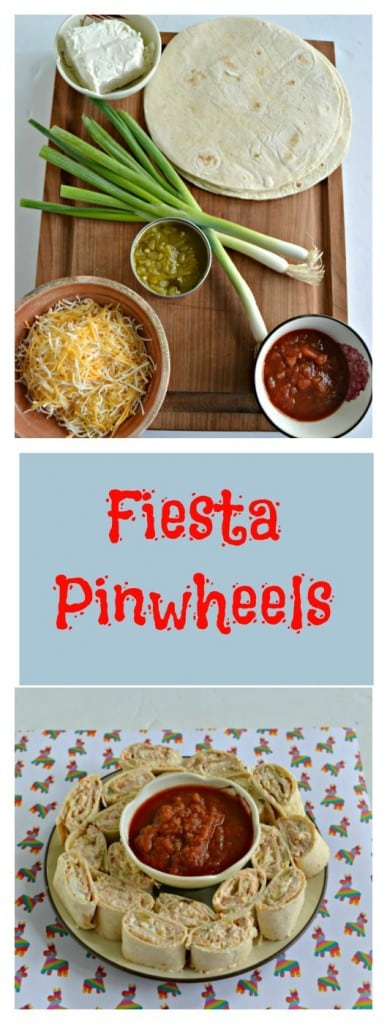 We love these Fiesta Pinwheels for an appetizer or a snack!