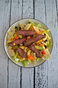 Looking for a delicious entree salad? Try my Southwestern Steak Salad!