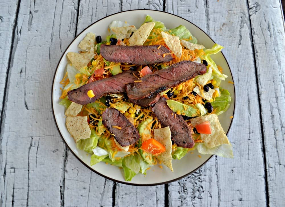 Southwestern Steak Salads are a delicious and filling entree salad