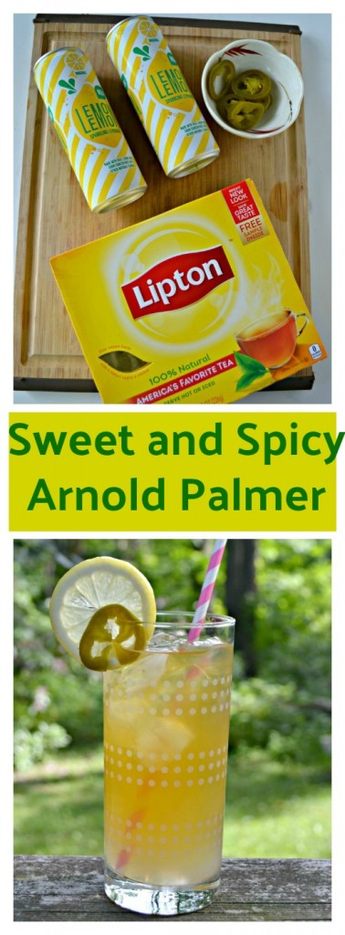 It only takes a few ingredients to make a delicious Sweet and Spicy Arnold Palmer!