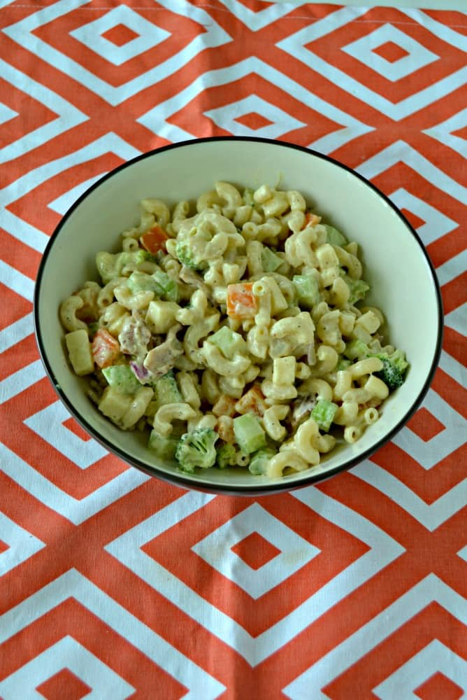 This Loaded Macaroni Salad is one of my favorite summer side dishes!