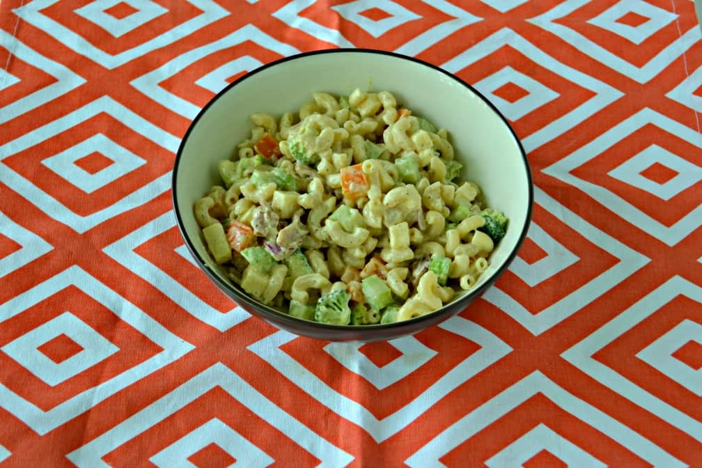 Summer is here and this Loaded Macaroni Salad should be on the menu!