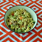 Loaded Macaroni Salad #CookoutWeek
