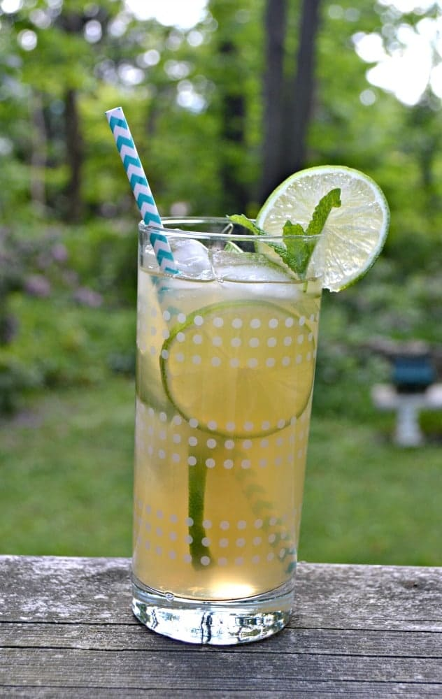 Looking for a refreshing summer beverage? Try my Mojito Iced Tea!