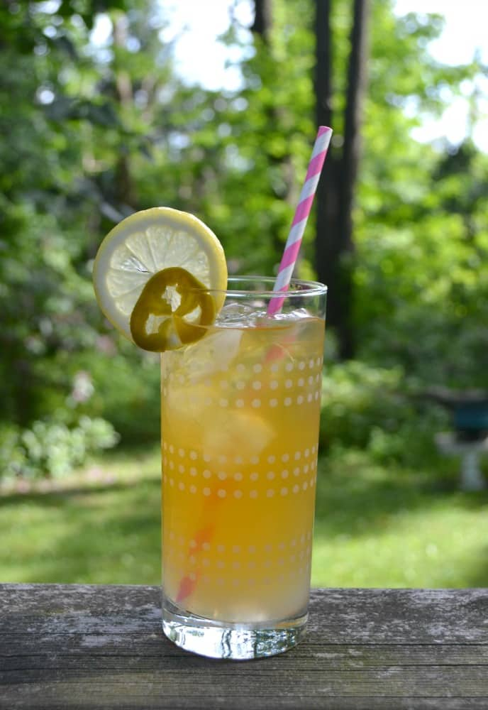 Like it spicy? Try my refreshing Sweet and Spicy Arnold Palmer which finishes with just a hint of jalapeno heat.