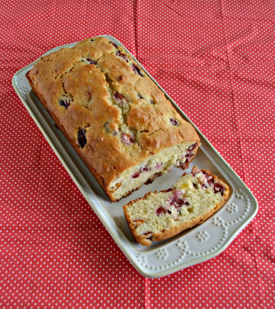 Looking for a delicious sweet bread? Try this awesome Cherry Almond Quick Bread!