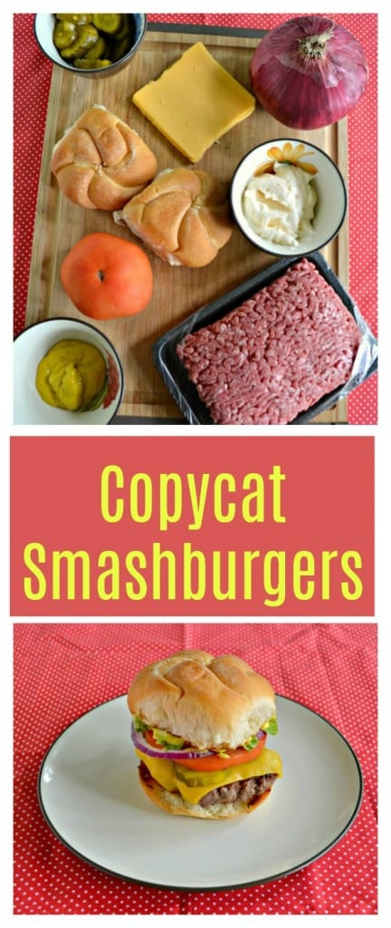 Everything you need to make an awesome Copycat Smashburger!