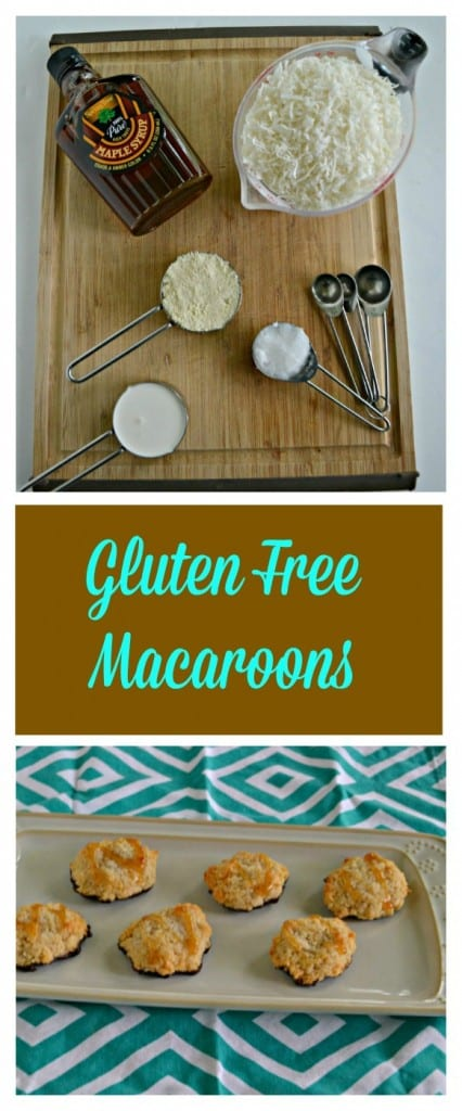Everything you need to make a batch of delicious chocolate dipped macaroons!