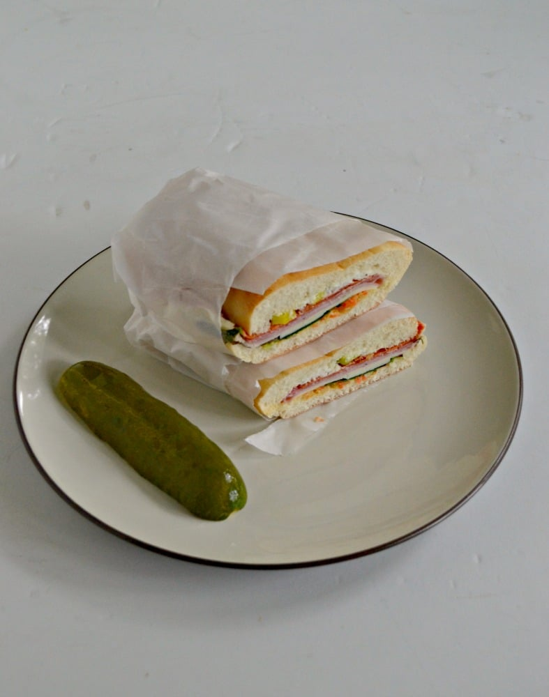 Looking for a sandwich to help fill you up? Try these awesome Muffuletta Sandwiches!