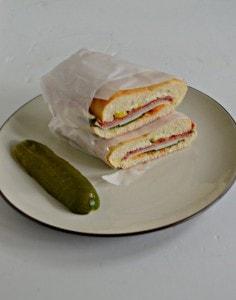 Muffuletta Sandwich #SundaySupper