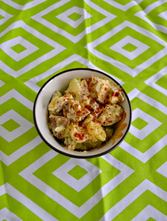 Looking for a great summer side dish? Try my All American Potato Salad recipe!