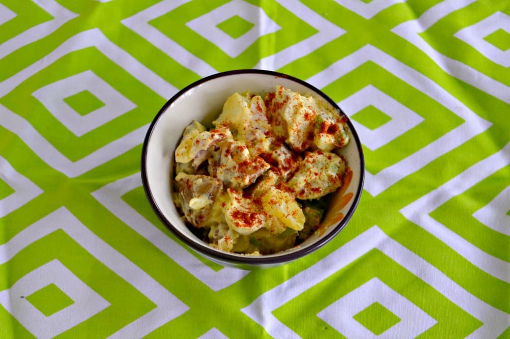 Every cookout needs a great side dish and this All American Potato Salad is perfect!