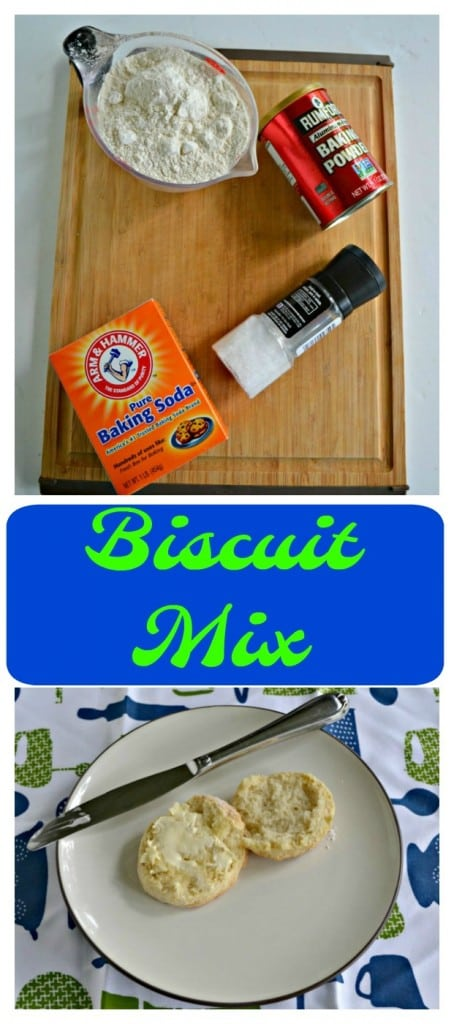 It's so easy to make a batch of Buttermilk Biscuit Mix!