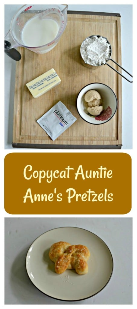 Bake up your own Copycat Auntie Anne's Pretzels at home!