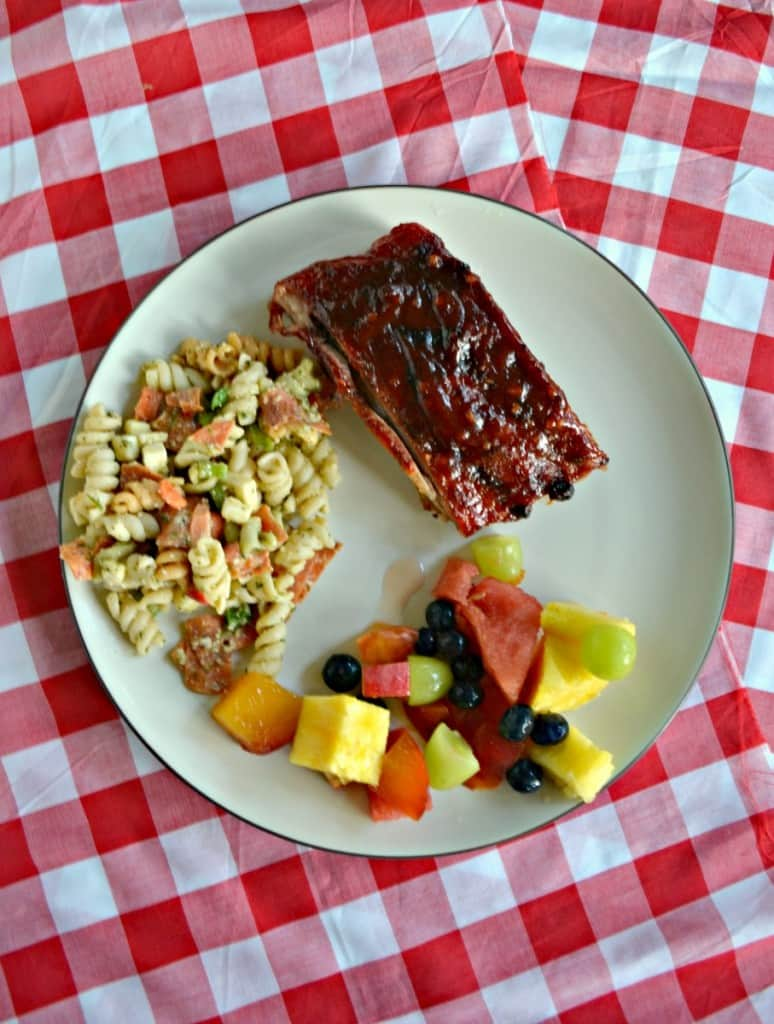 Looking for an easy summer grilling recipe? Check out my Grilled BBQ Pork Ribs with homemade BBQ Sauce!