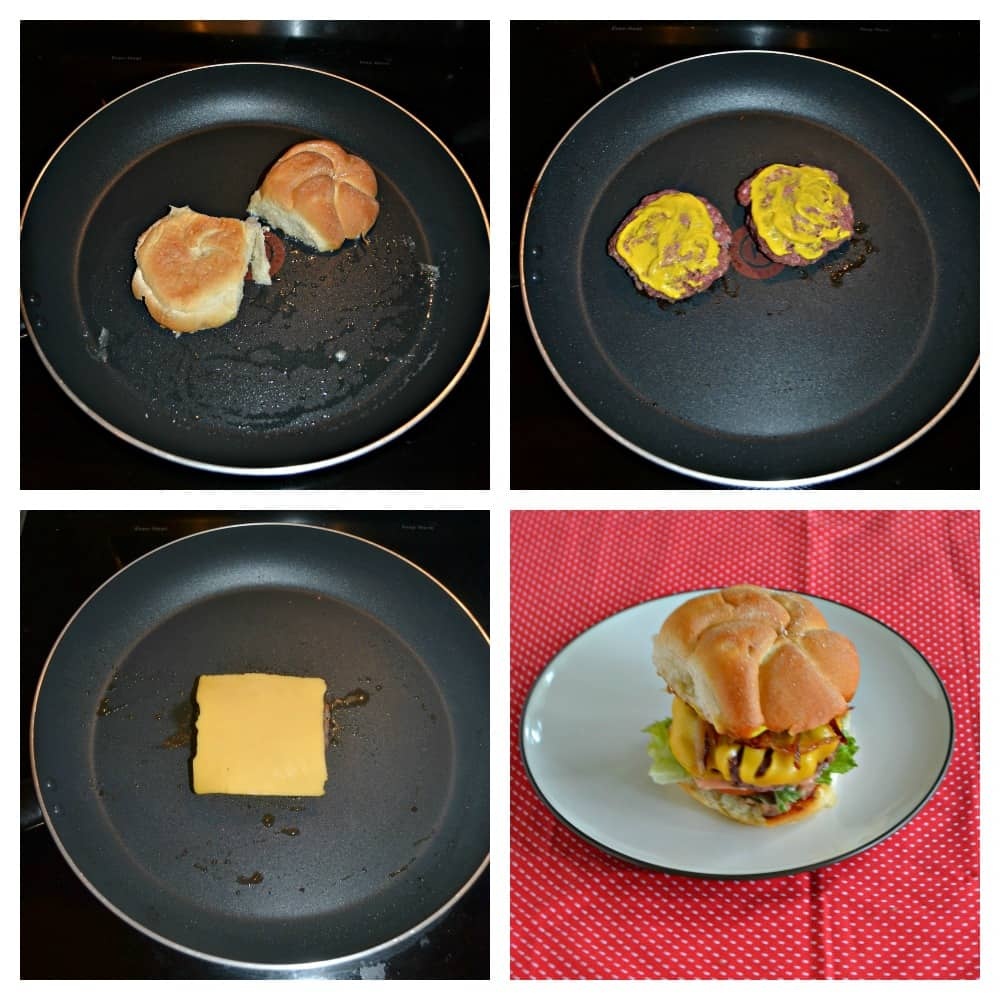 It only takes a few easy steps to make the delicious Copycat In-N-Out Cheeseburger!
